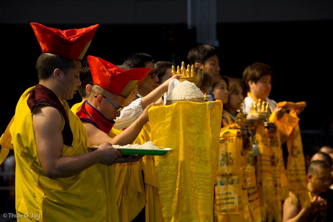 Ritual (chang chog puja) for the Deceased Led by Karmapa, Hong Kong