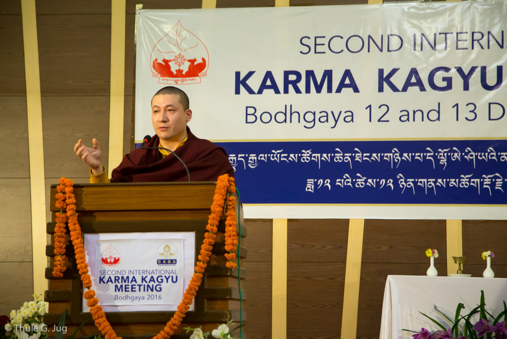 Kagyu Monlam 2016. 2nd International Karma Kagyu Meeting, 2016-12-12 to 13