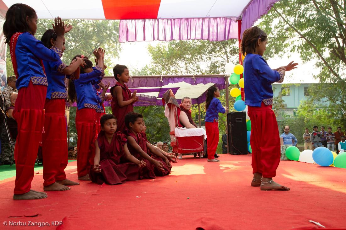 Visit to Bodhi Tree School - Karmapa News