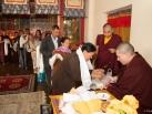 Kagyu Monlam in Bodh Gaya with Gyalwa Karmapa, 2015, Second day