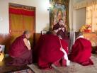 Kagyu Monlam in Bodh Gaya with Gyalwa Karmapa, 2015, Seventh day