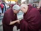 Kagyu Monlam in Bodh Gaya with Gyalwa Karmapa, 2015, First day