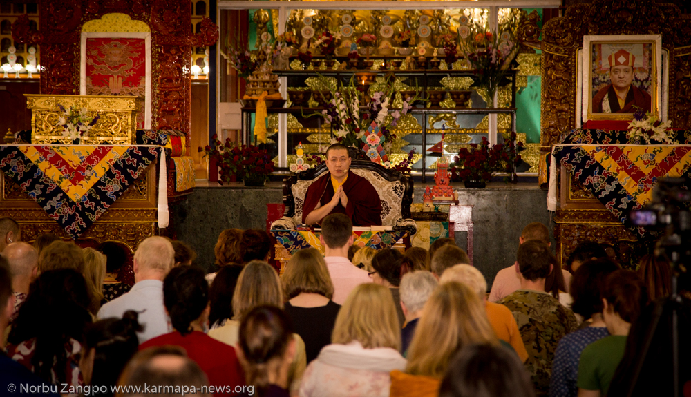 Karmapa Public Course 2016