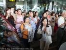 Karmapa in Taiwan: Arrival in Hual Lien