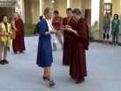 2012-11-18, KIBI:  His Holiness Gyalwa Karmapa gives teaching and meets with students in KIBI