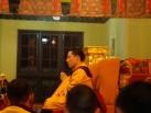 2012-12-04, New Delhi: Gyalwa Karmapa gives Sojong Vows on the last day of Meditation Retreat at KIBI
