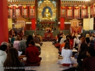 2012-12-05, New Delhi: Closing Ceremony of Shamata Meditation Course at Karmapa International Buddhist Institute