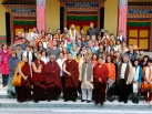 2012-12-05, KIBI: Group Pictures after Shamata Meditation Course in Karmapa International Buddhist Institute