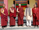 2012-12-05, KIBI: Group Pictures after Shamata Meditation Course in Karmapa International Buddhist Institute