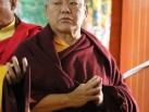 12-12-13, Bodhgaya: Arrival and welcome ceremony of Gyalwa Karmapa in Beru Kyentse Rinpoche Monastery
