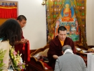 2012-12-17, Bodhgaya: Audiences with Gyalwa Karmapa