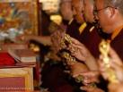 2012-12-18, Bodhgaya: Fire Puja for deceased people in Karma Temple