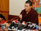 2012-12-18, Bodhgaya: Press Conference with Gyalwa Karmapa