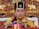 2012-12-19, Karma Temple: Gyalwa Karmapa grants Chenresig Empowerment in Beru Kyentse Monastery in Bodhgaya.