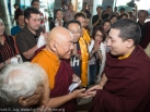 Karmapa in Kuching: Departure from Kuching International Airport