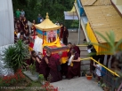 Departure of the kudung of Shamar Rinpoche from Kalimpong