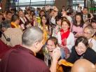 Karmapa visits Taiwan: Karmapa arrives in Taipei