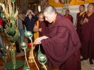 Karmapa visits Taiwan: Offering of Body Speech and Mind
