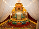 Karmapa visits Taiwan: Rabne, Blessing ceremony of the Monastery