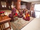 Karmapa visits Taiwan: Rabne, Blessing ceremony of the Monastery