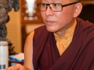 Karmapa visits Taiwan: Audiences before departure