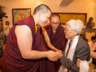 Karmapa visits Taiwan: Audiences before departure