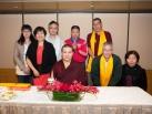 Karmapa visits Taiwan: Speech to center abbots and major sponsors