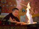 Kagyu Monlam 2014. Red Chenresig Puja with Gyalwa Karmapa. © 2014, Thule G. Jug