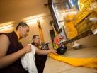 Kagyu Monlam 2014. last day with Karmapa. © 2014, Thule G. Jug