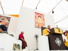 Karmapa visits Europe Center in Germany. Aug1 to 9, 2015