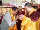 Karmapa visits Maratika Cave in Nepal, 2015-11-06 to 11-08