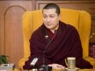 Gyalwa Karmapa gives teachings to KIBI-students and answers questions