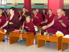 One-Year Commemoration Ceremonies of the Passing of HH the 14th Shamarpa Mipham Chokyi Lodro with Gyalwa Karmapa and lamas from the Karma Kagyu School