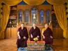 Portraits of Gyalwa Karmapa, Jamgon Kongtrul Rinpoche and Beru Khyentse Rinpoche