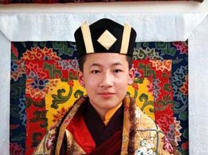 Karmapa in 1995