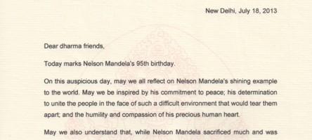 Letter for 95th birthday of nelson mandela e1374149306880eg stopboris Image collections
