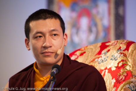 the 17th Karmapa in Germany