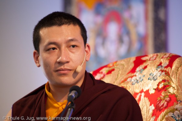 """Karmapa in France, Dhagpo Kagyu Ling: Teaching """"The Path of the"""