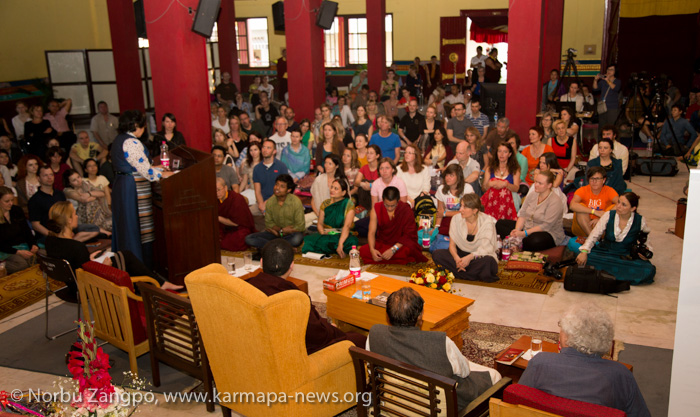 Presentation of South Asia Buddhist Association at K.I.B.I.
