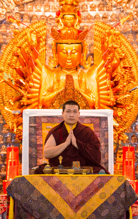 Karmapa in Indonesia. Teachings and refuge