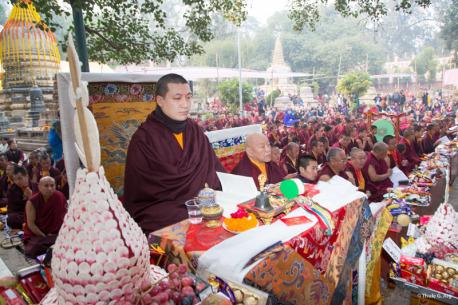 Kagyu Monlam with Gyalwa Karmapa, last day with Tsog puja