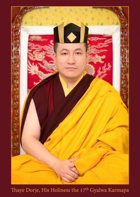 Karmapa portrait