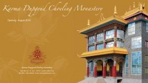 Karmapa in Ladakh 2015 - monastery inauguration