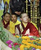 Karmapa in Bodhgaya 1996