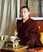 Karmapa in 1997. Studies in Kalimpong.