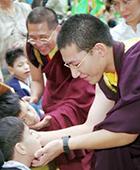 Karmapa in 1999