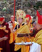 Karmapa in 2000