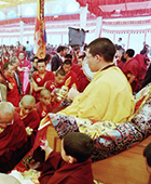 Karmapa in 2001