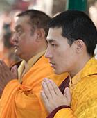 Karmapa and Shamarpa in Bodhgaya 2007