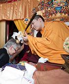 Karmapa in Bodhgaya 2010
